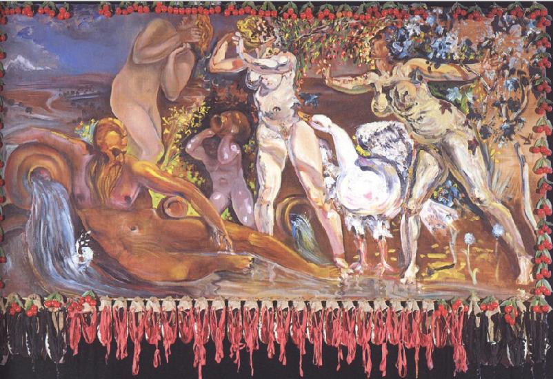 Salvador Dali, Αλληγορία της Άνοιξης, 1978.