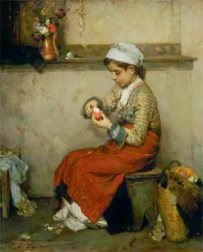 Νικηφόρος Λύτρας, Το ωόν του Πάσχα, 1874-1875
