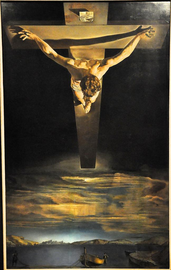 Salvador Dali, Εσταυρωμένος, 1951