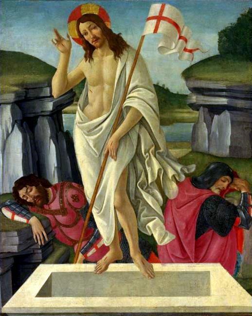 Sandro Botticelli, Ανάσταση, 1490