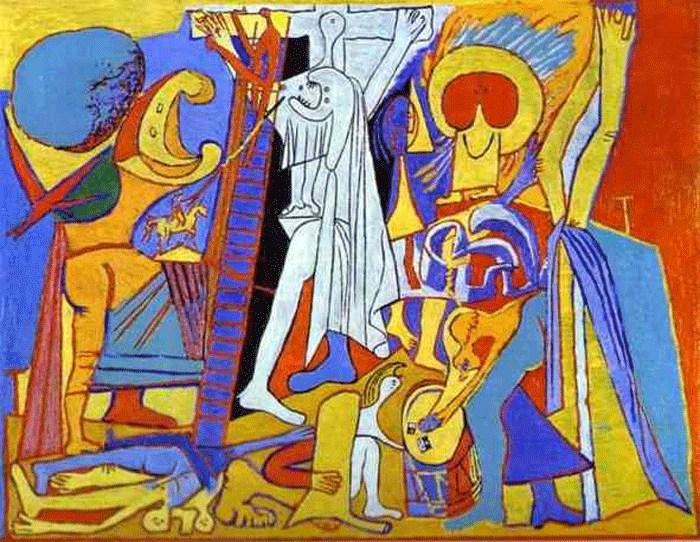 Pablo Picasso, Η Σταύρωση, 1930