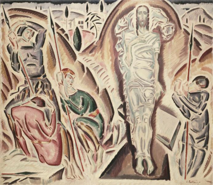 Κωνσταντίνος Παρθένης, Η Ανάστασις, 1917