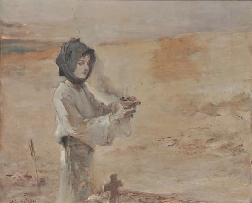 Νικηφόρος Λύτρας, Θυμίαμα στον τάφο, 1902