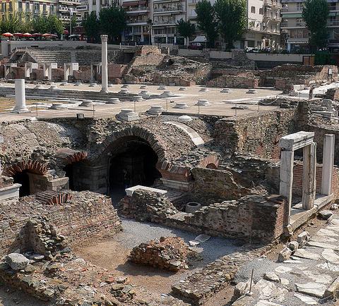 thessaloniki-roman_forum